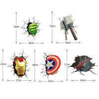3D 1/2PCS Viny The Avengers Sticker Emblem Decal For Auto, Car, Truck,Motorcycle