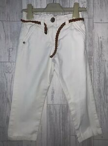 Girls Age 4- 5 Years - Next Summer Trousers With Belt
