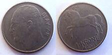 Norvège  - 1 krone 1962 - Norge - Norway Olav V