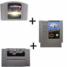 Everdrive 64v3 +Everdrive N8 + Sd2Snes