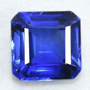 RARE Certified 6.80 Ct Natural Ceylon Blue Sapphire Unheated Loose Gemstones