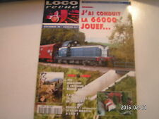 **c Loco Revue n°597 Dernières heures avant l'Ankou / BB 66000 Jouef au 1/87