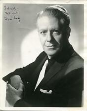 NELSON EDDY SINGER ACTOR / PHANTOM OF THE OPERA SIGNED PHOTO AUTOGRAPH
