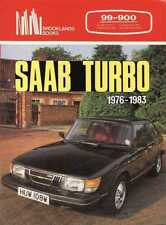SAAB TURBO 1976-1983, 99-900, BROOKLANDS 100 PAGE BOOK, NEW    FREE SHIPPING