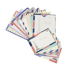 Stationary Paper and Envelopes Set, 48 PCS Stationary Set for Women Cute Stat...
