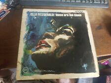 ELLA FITZGERALD: These Are The Blues LP Jazz