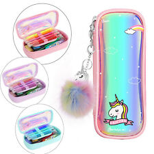 MoKo Pen Pencil Case for Girls, Big Capacity Students Stationery Cute Pouch Hot