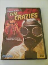 The Crazies DVD, 2003 George Romero, Blue Underground Release New OOP + Free DVD