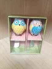 62448 Floral Owl Spreader Set/2  Kitchen Gadgets Appetizer Utensils Owls Knife