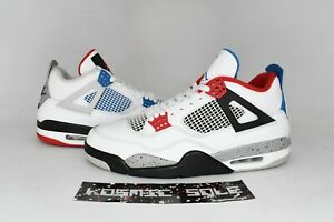 Nike Air Jordan 4 Retro What The  Style # CI1184-146 Size 11.5
