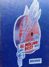 Vintage Cookbook EL MOLINO BEST RECIPES Alhambra CA ring binder 1953