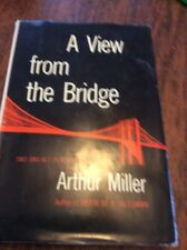 A View from the Bridge by Arthur Miller 1955, Hardcover w dj Fireside Club ed
