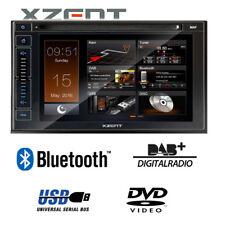 Xzent Radio X-402 2-DIN Autoradio mit Bluetooth DAB+ USB HDMI Navi als Option