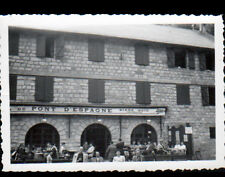 CAUTERETS (65) Photo Amateur / HOTEL du PONT D'ESPAGNE animé cliché période 1930