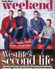 UK Daily Mail Weekend Magazine 26 January 2019: WESTLIFE Kian Egan MARK FEEHILY