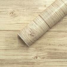 Wood Wallpaper Self Adhesive Wood Peel and Stick paper Removable Home Decor Art