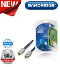 Bandridge High Speed HDMI Cable Ethernet Flat HDMI - HDMI Connector 10 m BVL1610