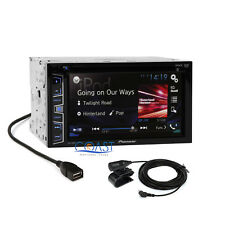 """Pioneer 6.2"""" Touchscreen DVD MP3 Bluetooth Stereo Receiver w/ iPhone Control"""