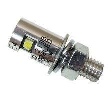 type universel en aluminium LED éclairage de plaque d'immatriculation moto auto