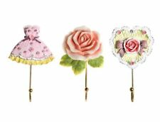 Flower Shaped Wall Mounted Hook For Home Decorative Wall Rack Towel Hanger Hook
