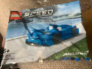 LEGO SPEED CHAMPIONS MCLAREN ELVA 30343 **SEALED AND BRAND NEW**