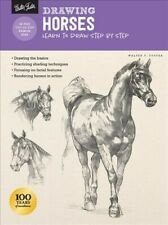 Drawing Horses : Learn to Draw Step by Step, Paperback by Foster, Walter T. (...