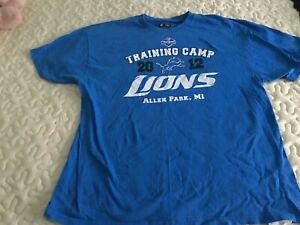 Detroit Lions training camp t-shirt 2012