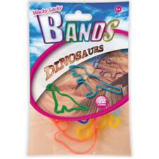 Kids Bandas Elásticas Wacky Lacky Fiesta Divertida Toy Formas Para Niños Dinosaurios 10 Paquetes