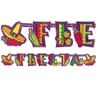 Fiesta Letter Banner HANGING DECORATION PARTY SUPPLIES