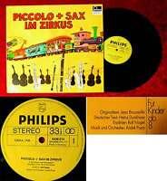LP Piccolo + Sax im Zirkus (Fontana 6436 014) Rolf Nagel Orchester André Popp