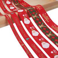 d 'emballage Joyeux Noël. Décoration de Noël Satin de Noël Cordon Emballage