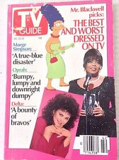 Tv Guide Magazine Marge Simpson Oprah Winfrey October 20-26 1990 042317nonrh