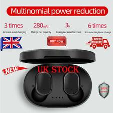 A6S TWS Mini Airdots HEADSET Bluetooth 5.0 Earphone Headphone STEREO Earbuds AC