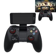 Bluetooth Gamepad Joystick Joypad Spiel Controller Mit Halter für PC Android IOS
