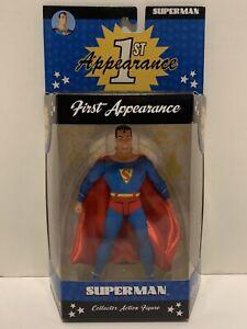 DC DIRECT SUPERMAN 1ST APPEARANCE DC COMICS ACTION COMICS #1 ACTION FIGURE. WOW!