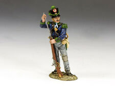 KING & COUNTRY REMEMBER THE ALAMO RTA063 CAZADORES STANDING LOADING RIFLE MIB