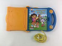 Story Reader Video System Dora The Explorer Book and Cartridge AV Cable PI