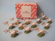 Britains plastica animali da zoo * PELICAN (versione successiva) commercio confezione da 12