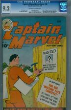 Captain Marvel #36 June 1944 CGC 9.2 from the Benny K Collection