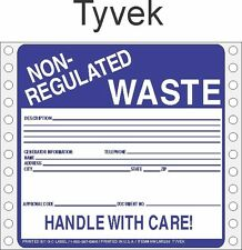 Non-Regulated Waste Tyvek Labels HWL255T (PACK OF 500)