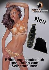 Airbrush / Spray Tanning  Handschuh *NEU*+8% DHA Lotion *Sonderangebot*