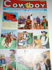 IL COW BOY-N°45 ANNO II-1946-BIG BILL-ED.DE LEO GENOVA