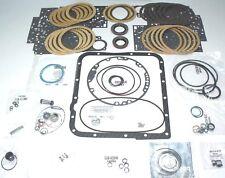 Basic Gm 4L60E Transmission Rebuild Kit w/ Lip Seals & Full Clutch Kit 93-03