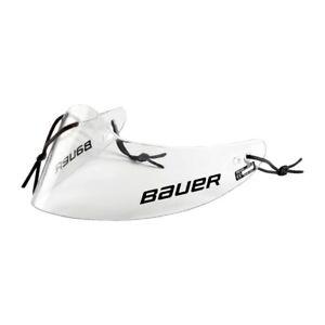 Bauer Goalie Senior GTP Clear Hockey Goalie Throat Guard Senior Neck Protector
