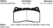 EBC Yellowstuff Brake Pad Set Front / Rear for 03-08 S60 / S70 / 03-14 Impreza