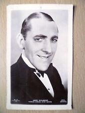 Vintage Famous Film Stars Real Photo Postcard- JACK HULBERT, No.37G