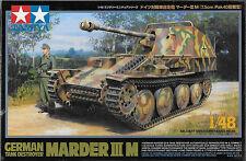 1/48 Tamiya 32568 - German WWII Tank Destroyer Marder III M  Plastic Model Kit