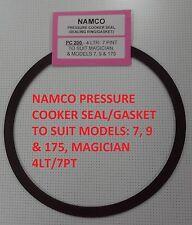 Namco Pressure Cooker Seal/Gasket 4LTR/7PNT MAGICIAN, MODELS 7, 9 & 175 (PC200)