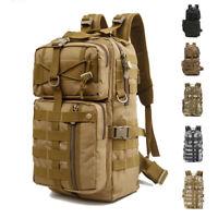 30L Outdoor Military Rucksacks Tactical Backpack Camping Hiking Trekking Bag US