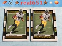 2017 JUJU SMITH-SCHUSTER Rookie Lot x 17 RC Donruss The Rookies | Steelers Batch